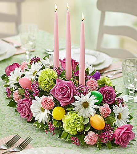 Easter Centerpiece in Waltham MA, Waltham's Florist