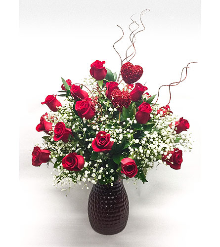 Straight From The Heart (Red) in Waltham MA, Waltham's Florist