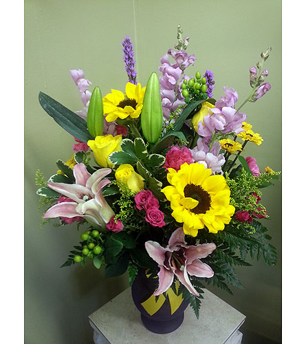 You Make Me smile in Charlotte NC, Starclaire House Of Flowers Florist