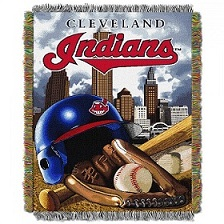Cleveland Indians Throw in Perrysburg & Toledo OH  OH, Ken's Flower Shops
