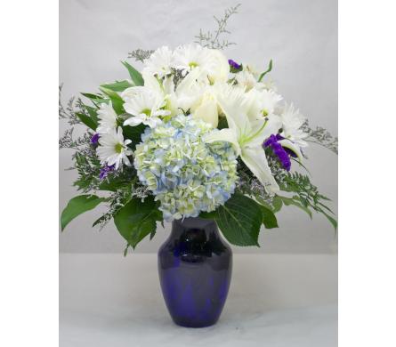 Beautiful in Blue in Wichita KS, Tillie's Flower Shop