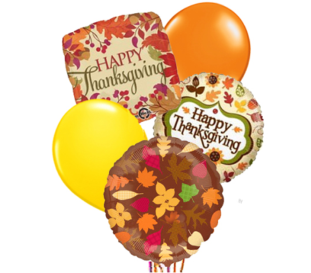 Thanksgiving Balloon Bouquet in Birmingham AL, Norton's Florist