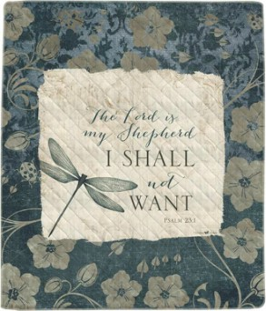 The Lord is My Shepard - Quilt  in Perrysburg & Toledo OH  OH, Ken's Flower Shops