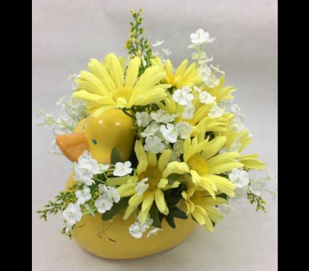 Wichita silk flowers permanent botanicals tillies flower shop silk baby duck mightylinksfo