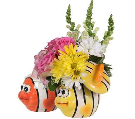 Baby Fishes Bouquet for Girls in Birmingham AL, Norton's Florist