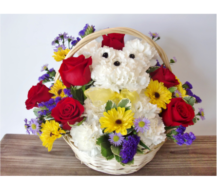 A Dog-Able Bouquet in Nashville TN, Flowers By Louis Hody