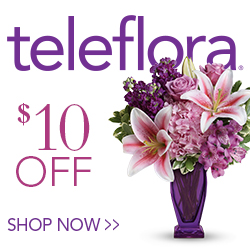 $10 off flowers