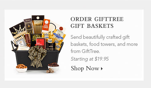 ORDER GIFTTREE GIFT BASKETS