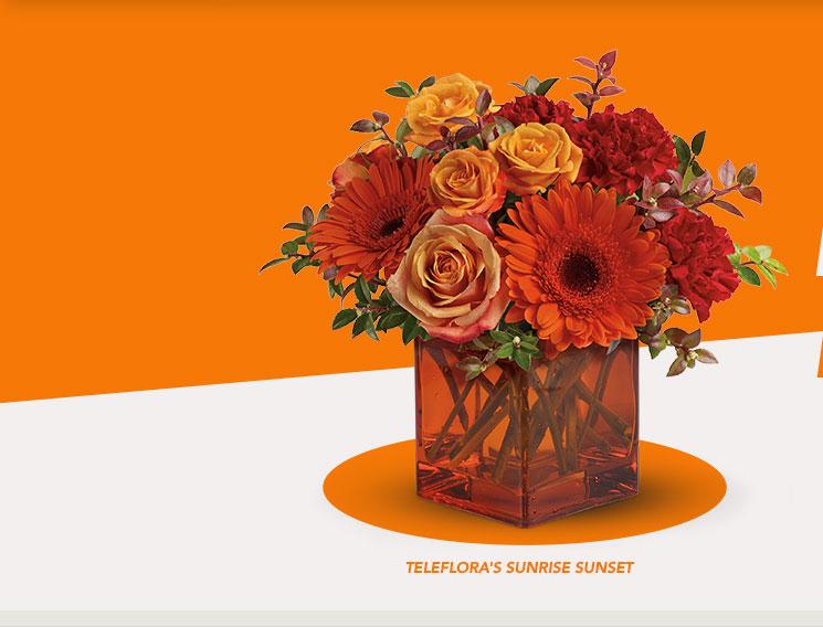 Telefloras Sapphire Sunrise Bouquet