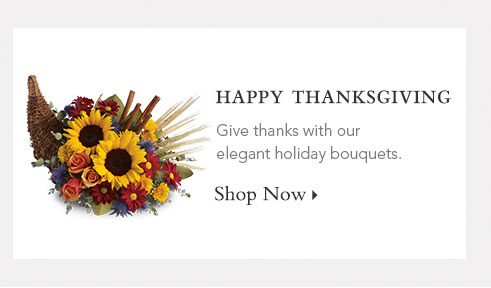 Thanksgiving Bouquets