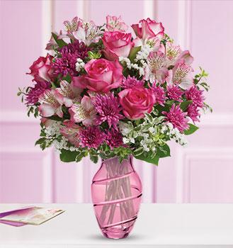 Teleflora's Pink Bliss Bouquet