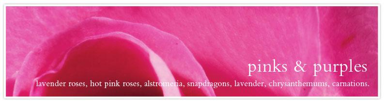 pinks & purples